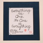 Calligraphy - everything is one